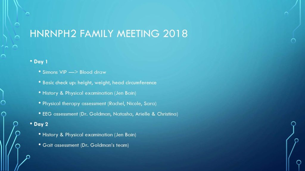 Family Meeting Overview