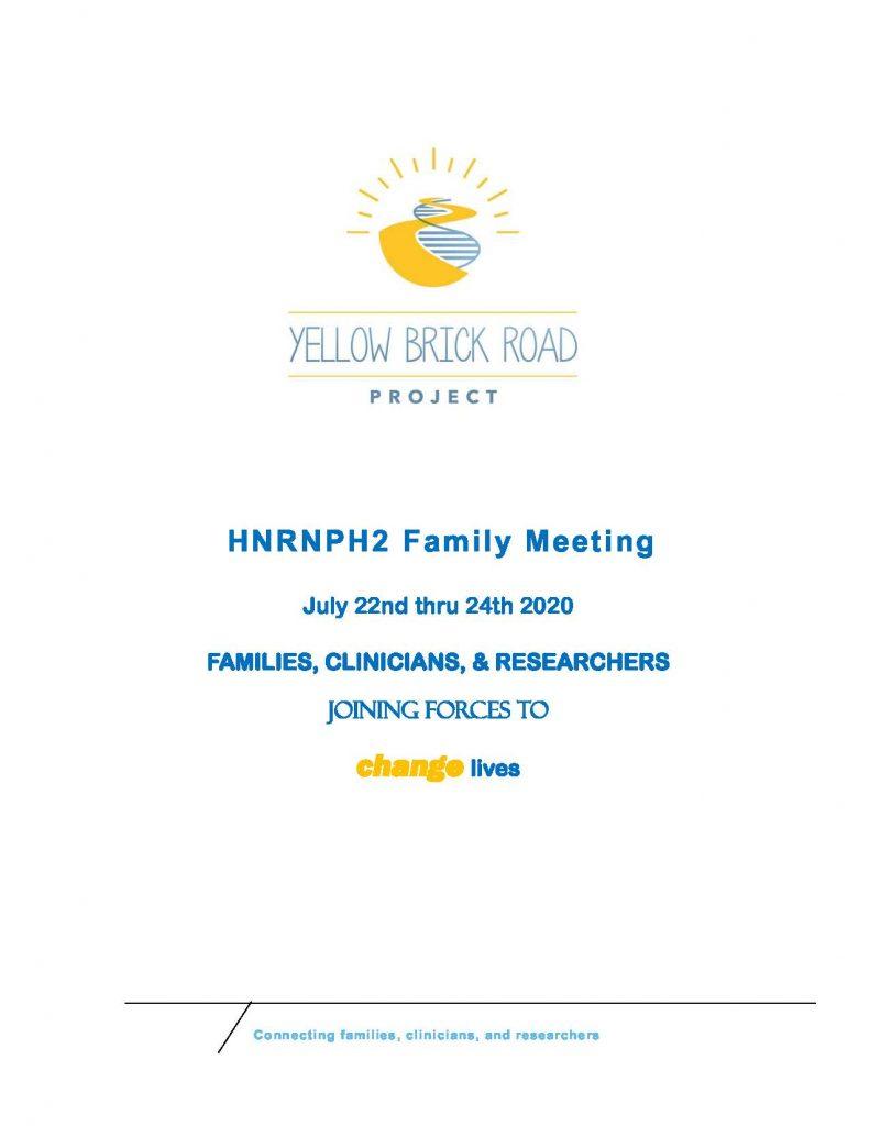 YBRP Meeting 2020 Flyer